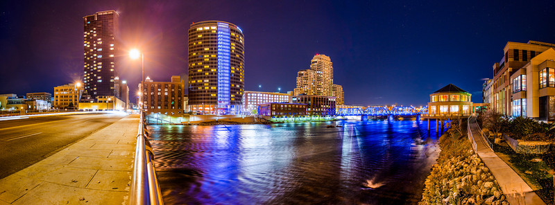Grand Rapids from Pearl Street.  Photography by Matt Gubancsik.